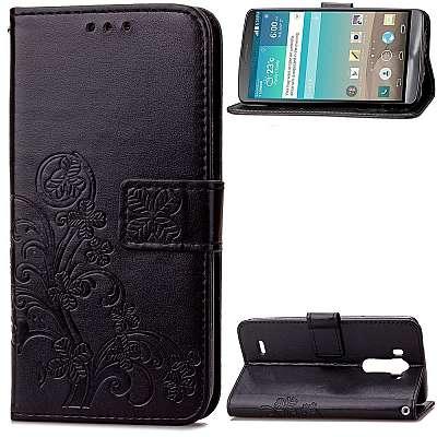 Preklopni ovitek (črn) za LG G3
