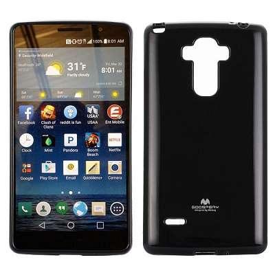 Ovitek Goospery (črn) za LG G4 Stylus