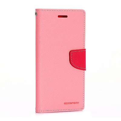 Preklopni ovitek Goospery (svetlo roza) za LG G4 Stylus