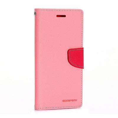 Preklopni ovitek Goospery (svetlo roza) za Samsung Galaxy J7 2016
