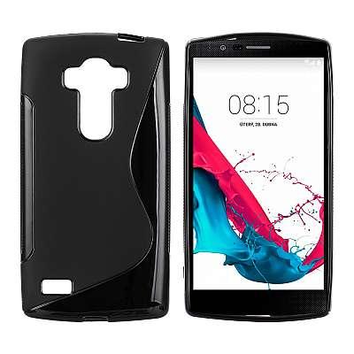 Ovitek TPU (črn) za LG G4