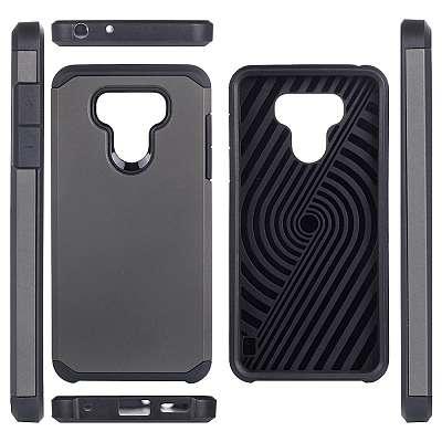 Ovitek Hard Cover (siv) za LG G6