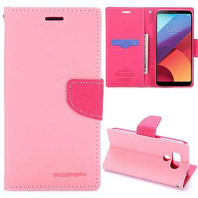 Preklopni ovitek Goospery (roza) za LG G6