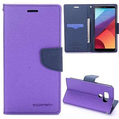 Preklopni ovitek Goospery (vijoličen) za LG G6