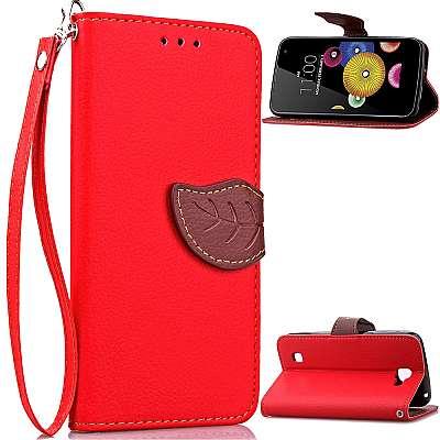 Preklopni ovitek (rdeč) za LG K4