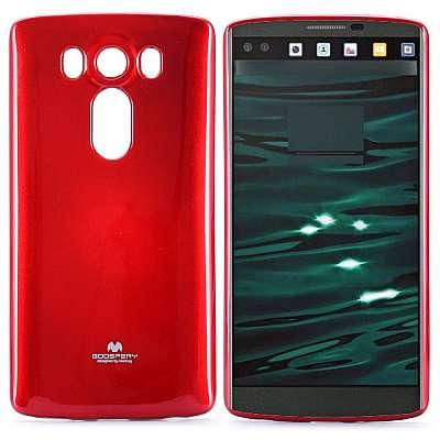 Ovitek TPU Goospery (rdeč) za LG V10