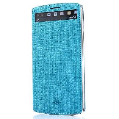 Preklopni ovitek Vili (moder) za LG V10