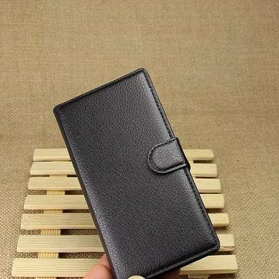 Preklopni ovitek (črn) za Sony Xperia M2