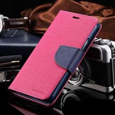 Preklopni ovitek Goospery (temno roza) za Samsung Galaxy S5