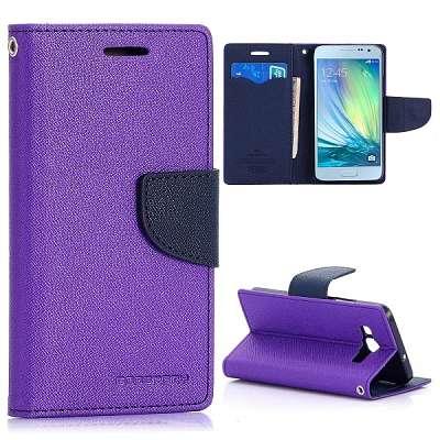 Preklopni ovitek (vijoličen) za Samsung Galaxy A3
