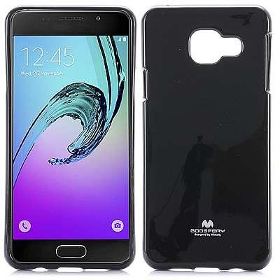 Ovitek TPU Goospery (črn) za Samsung Galaxy A3 2016