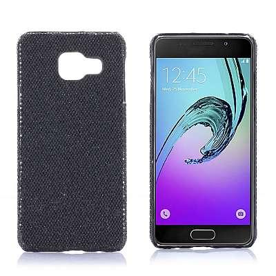Ovitek PC (črn) za Samsung Galaxy A3 2016