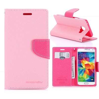 Preklopni ovitek Goospery (roza) za Samsung Galaxy A3 2016