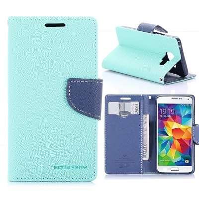 Preklopni ovitek Goospery (turkizen) za Samsung Galaxy A3 2016