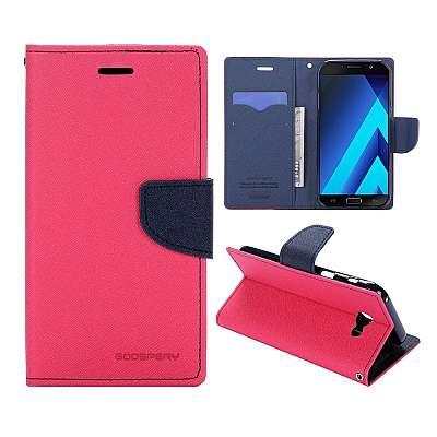 Preklopni ovitek Goospery (roza) za Samsung Galaxy A7 2017