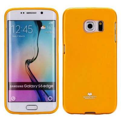 Ovitek TPU Goospery (oranžen) za Samsung Galaxy S6 Edge