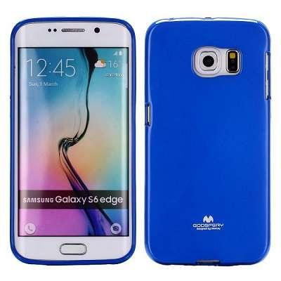 Ovitek TPU Goospery (moder) za Samsung Galaxy S6 Edge