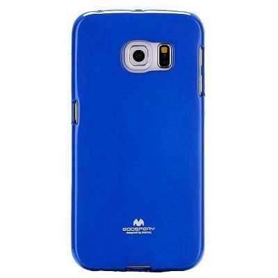 Ovitek TPU Goospery Jelly (moder) za Samsung Galaxy S6 Edge Plus