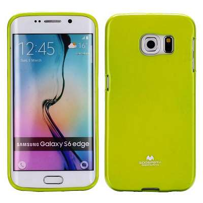Ovitek TPU Goospery (zelen) za Samsung Galaxy S6 Edge