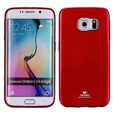 Ovitek TPU Goospery (vinsko rdeč) za Samsung Galaxy S6 Edge