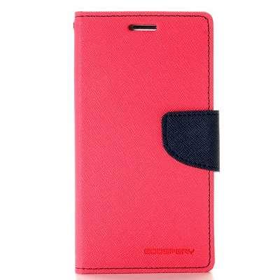 Preklopni ovitek Goospery (temno roza) za Samsung Galaxy S6 Edge Plus