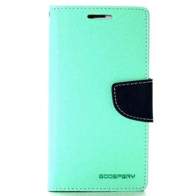 Preklopni ovitek Goospery (turkizen) za Samsung Galaxy S6