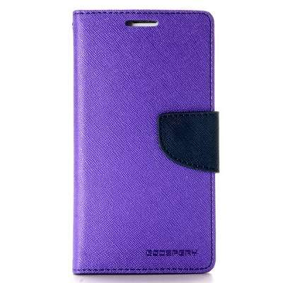 Preklopni ovitek Goospery (vijoličen) za Samsung Galaxy S6 Edge