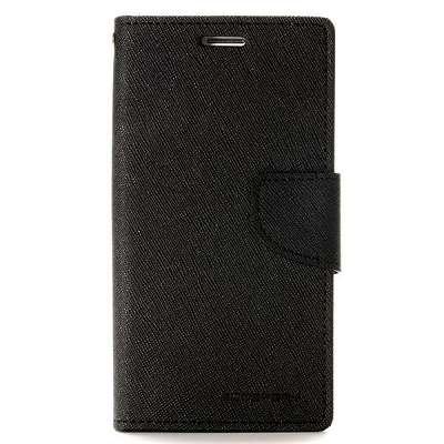 Preklopni ovitek Goospery (črn) za Samsung Galaxy S6