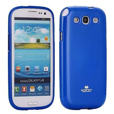 Ovitek TPU (moder) za Samsung Galaxy S3
