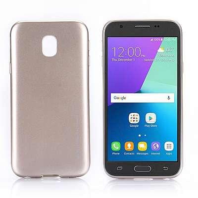 Ovitek TPU Goospery (gold) za Samsung Galaxy J3 2017