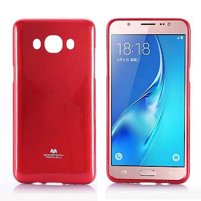 Ovitek TPU Goospery (rdeč) za Samsung Galaxy J5 2016