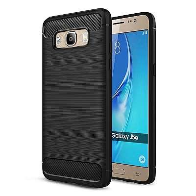 Ovitek TPU (črn) za Samsung Galaxy J7