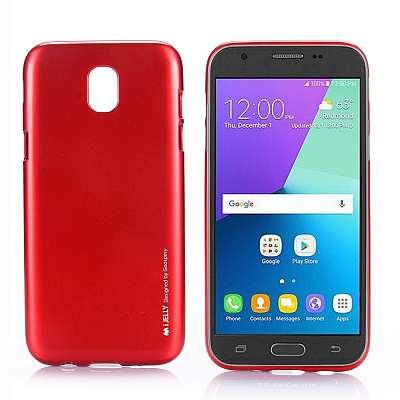 Ovitek TPU Goospery (rdeč) za Samsung Galaxy J5 2017