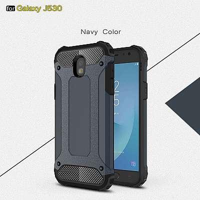 Ovitek Rugged X (Temno moder) za Samsung Galaxy J5 (2017)