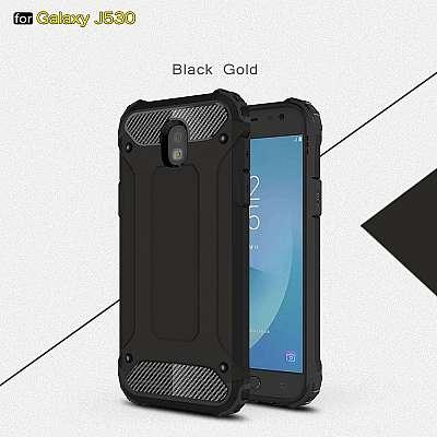 Ovitek Rugged X (Črn) za Samsung Galaxy J7 (2017)