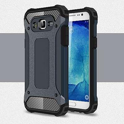 Ovitek Rugged X (temno moder) za Samsung Galaxy J7