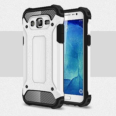 Ovitek Rugged X (bel) za Samsung Galaxy J5