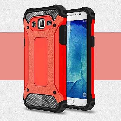 Ovitek Rugged X (rdeč) za Samsung Galaxy J5 2016
