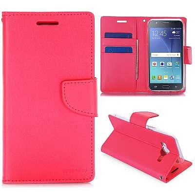 Preklopni ovitek Goospery (roza) - Samsung Galaxy J5