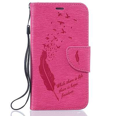 Preklopni ovitek (roza) za Samsung Galaxy J5