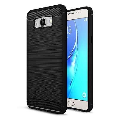 Ovitek TPU (črn) za Samsung Galaxy J7 2016
