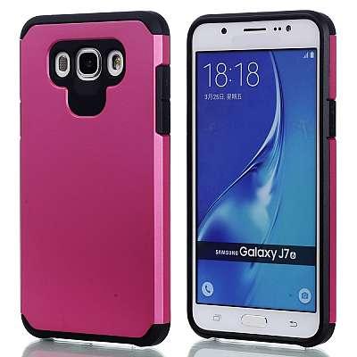 Ovitek Hard Cover (roza) za Samsung Galaxy J7 2016