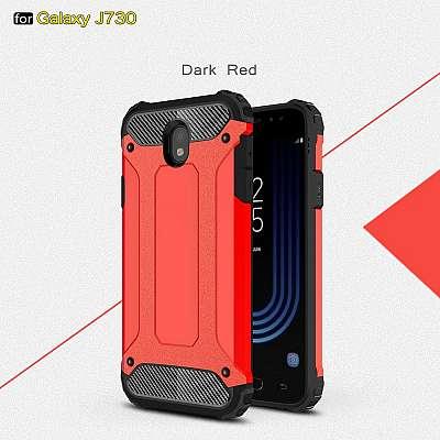 Ovitek Rugged X (Rdeč) za Samsung Galaxy J5 (2017)