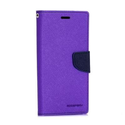 Preklopni ovitek Goospery (vijoličen) za Samsung Galaxy S6