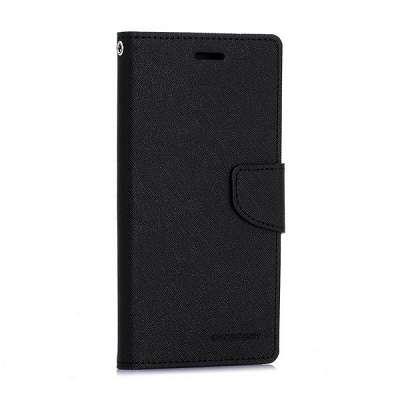 Preklopni ovitek Goospery (črn) za Samsung Galaxy S6 Edge
