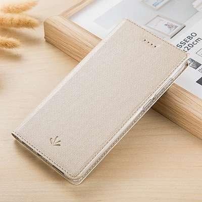 Preklopni ovitek Vili (zlat) za Sony Xperia L1