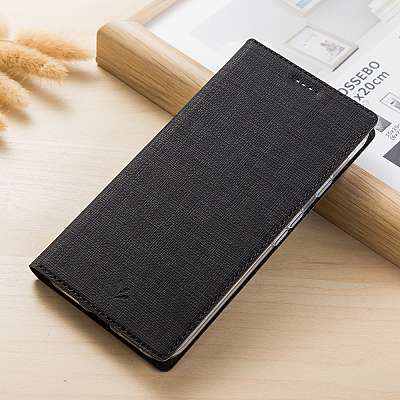 Preklopni ovitek Vili (črn) za Sony Xperia XZ