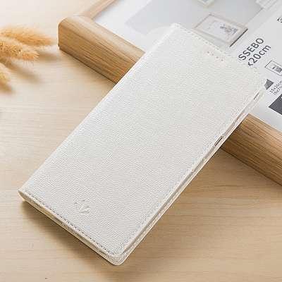 Preklopni ovitek Vili (bel) za Sony Xperia XZ