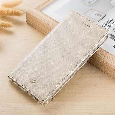 Preklopni ovitek Vili (zlat) za Sony Xperia XZ