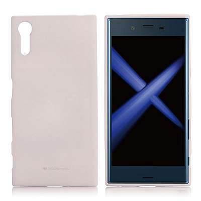 Ovitek TPU Goospery (bel) za Sony Xperia XZ